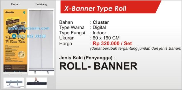Roll Banner Medan 60 x 160 cm