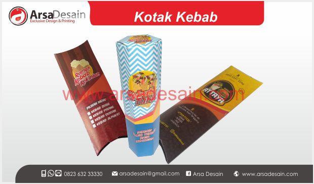 Cetak kotak kebab Medan