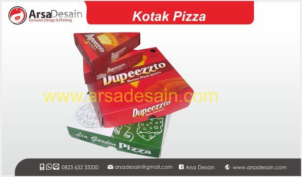 Cetak kotak Pizza Medan